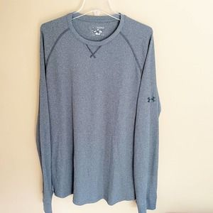 Under Armour Gray Thermal Long Sleeve Top 2XL